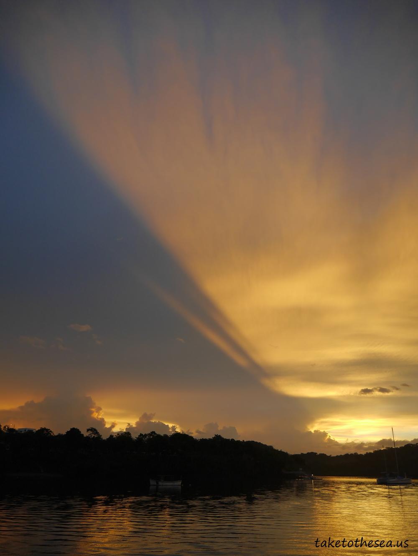 No shortage of beautiful sunrises in Boca Chica.