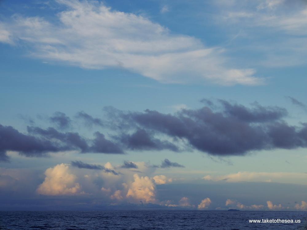 That little speck is isla Montuosa.